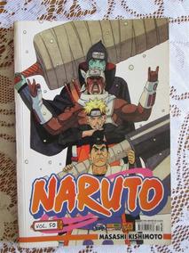 Naruto 50 - Primeira Publicação - Masashi Kishimoto