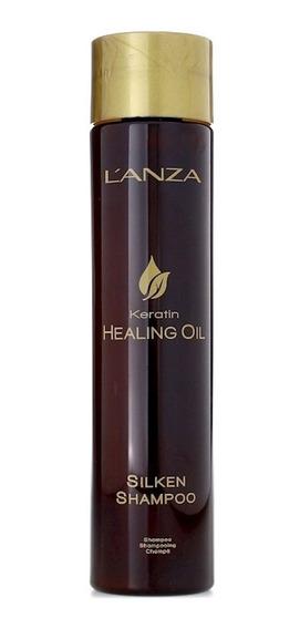 Shampoo Lanza Keratin Healing Oil Silken 300ml + Brinde