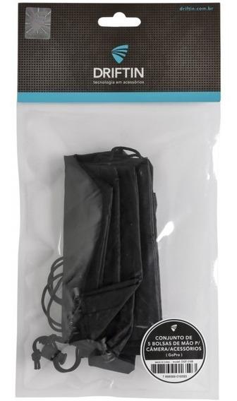 Conjunto De 5 Bolsas De Mão P/camera/scessorios Gopro