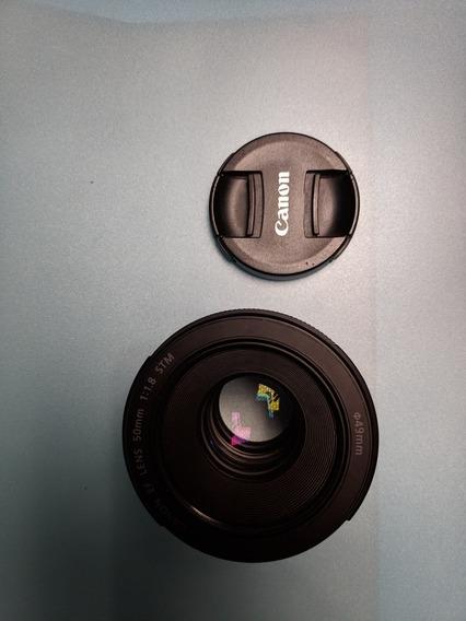 Lente 50mm Canon 1.8 Stm