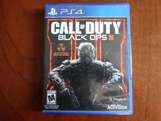 Call Of Duty Black Ops 3 + Nuketown - Ps4 Ingles Buen Estado