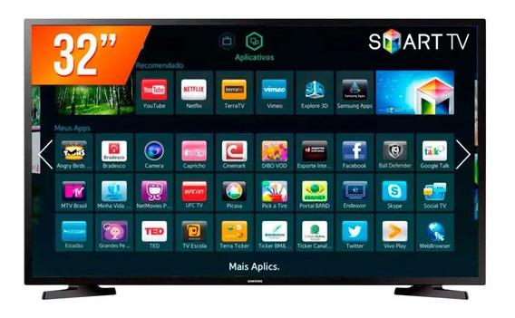 Tv Samsung 32 Led Hd Flat Smart Hd 2xhdmi Un32j4290agxzd