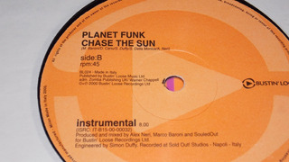 Planet Funk - Chase The Sun ( Instrumental Remix ) Promo