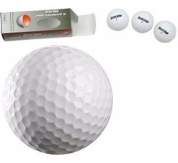 Pelotas De Golf Blancas 3 Piezas Longridge Pro Velocity 2
