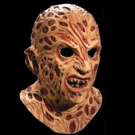 Freddy Krueger Halloween Mascara Cuello Disfraz Fiesta Grand