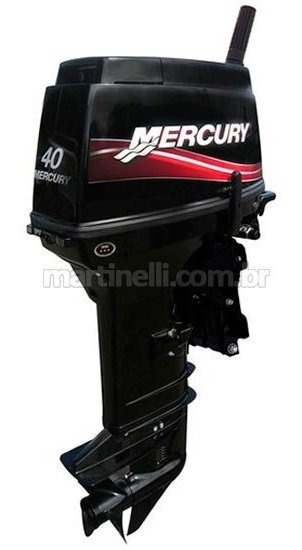 Motor De Popa Mercury 40 Hp Sea Pro 2t - Manual Com Manche