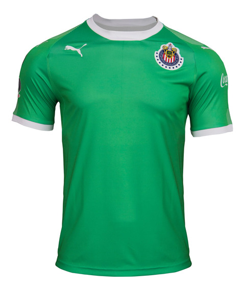 Puma Playera Chivas Para Hombre Verde 762573 01