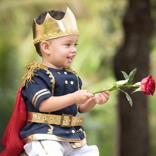 Fantasia Principe Azul Marinho Infantil