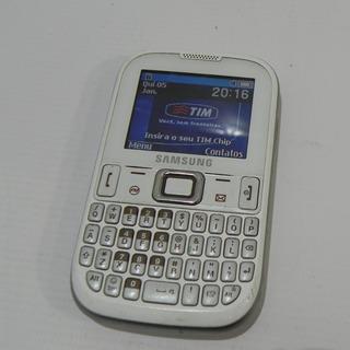 Samsung Qwerty Gsm Gt-e1260b Branco - Usado