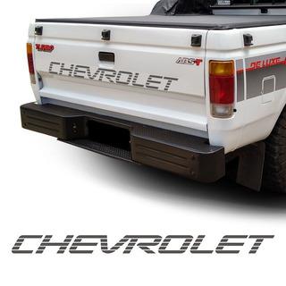 Adesivo Chevrolet Faixa Traseira D20 Grafite Modelo Original