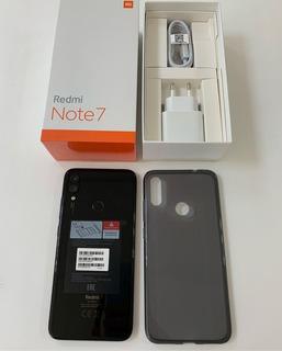 Redmi Note 7 128gb Preto - Lacrado