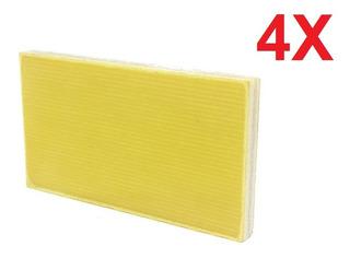 Placa De Teflon Para Uso Em Lnbf Banda C Kit Com 4 Peças