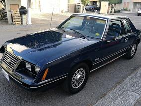 Ford Mustang Hard Top 1984 De Colección, Placas Auto Antiguo