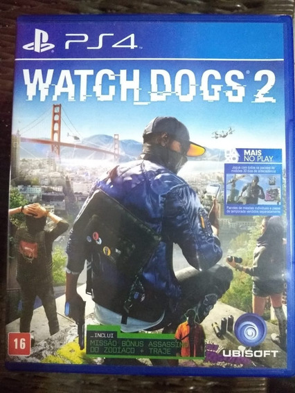 Watch Dogs 2 Mídia Física Ps4