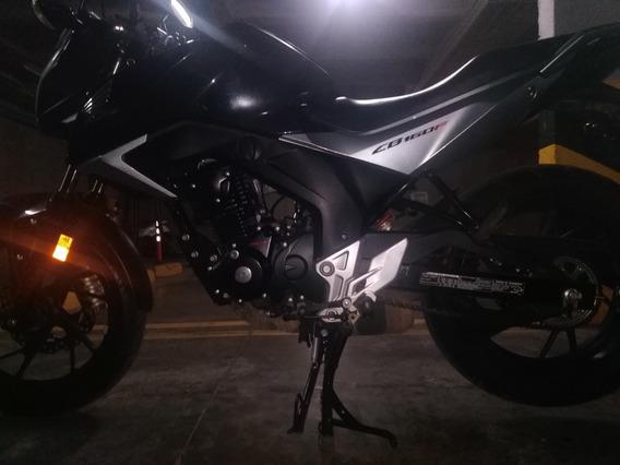 Honda Cb 160 Dlx Negra