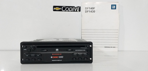 Radio Cd Player Original Astra/ Zafira 2002 A 2012 93383706