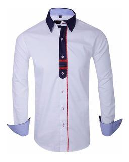 Camisas Entalladas Slim Fit Hombre- Quality Import Usa
