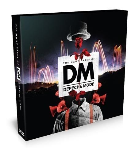 Depeche Mode - The Many Faces Of (3cd) Importado