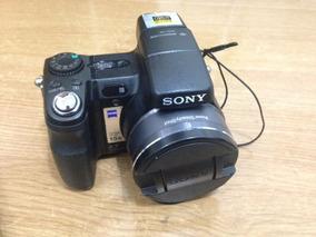 Camera Sony Dsc-h9 8.1mp Na Caixa Com Manual