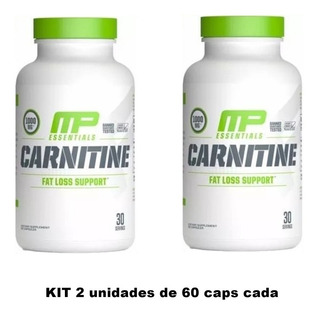 Carnitine Musclepharm 60cáp Importado Mucletech Nutrex