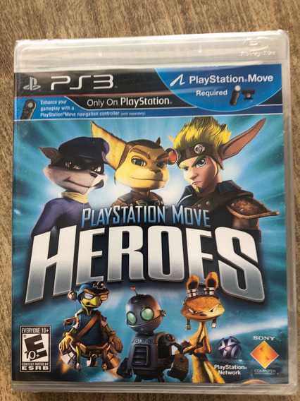 Jogo Playstation Move Heroes Ps3