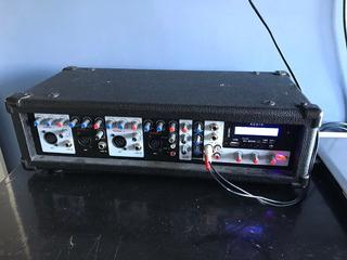 Consola Potenciada Usb 200w 4 Canales