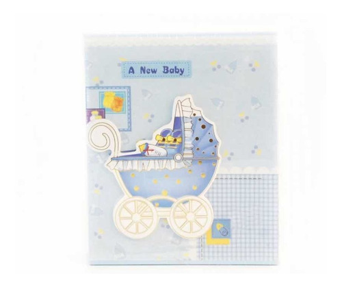 Álbum 100 Fotos 10cmx15cm  New Baby ( Usada)
