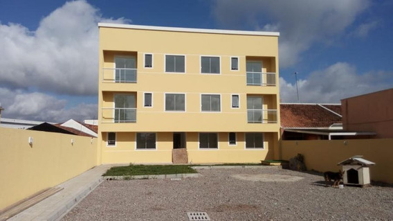 Apartamento Para Venda Em São José Dos Pinhais, Borda Do Campo, 1 Dormitório, 1 Banheiro, 1 Vaga - L798
