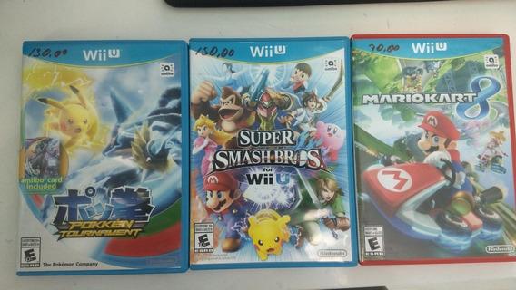 Super Smash Bros Wii U. Midia Fisica