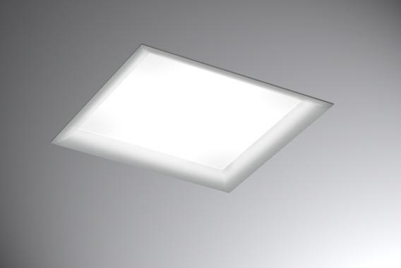 Luminária De Embutir Quadrada 9504bt New Inside 37,5x37,5cm