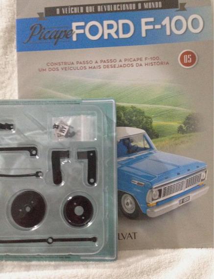 Coleção Picape Ford F-100 Fascículo 05 C/ Peças