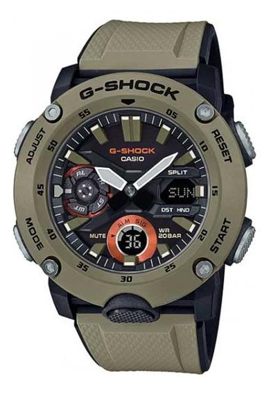 Relógio G-shock Carbon Core Card Ga-2000-5adr