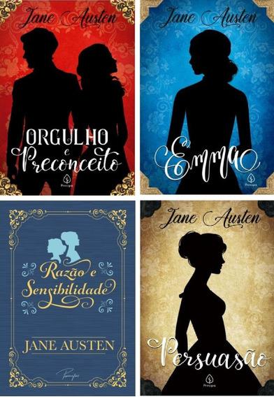 Kit 4 Livros - O Melhor De Jane Austen
