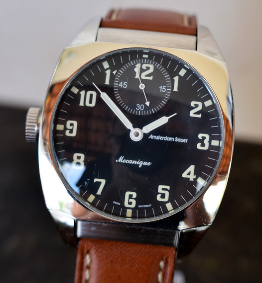Relógio Amsterdam Sauer - Raro Modelo - Igual Panerai Zerado