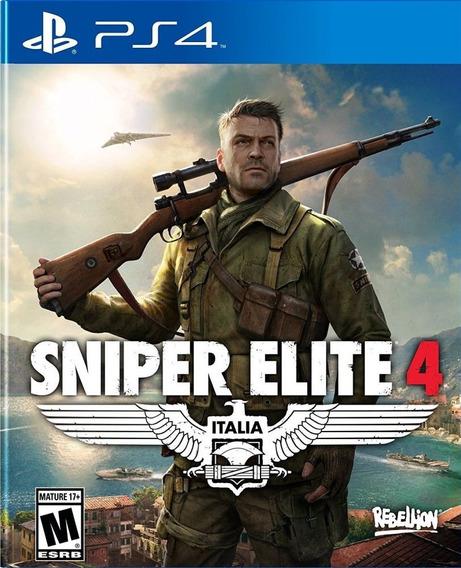 Sniper Elite 4 Ps4 Mídia Física Lacrado Pt Br Pronta Entrega