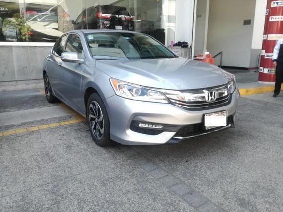 Honda Accord 4p Exl L4 Cvt A/ac. Aut. Qc Piel Gps F. Niebl