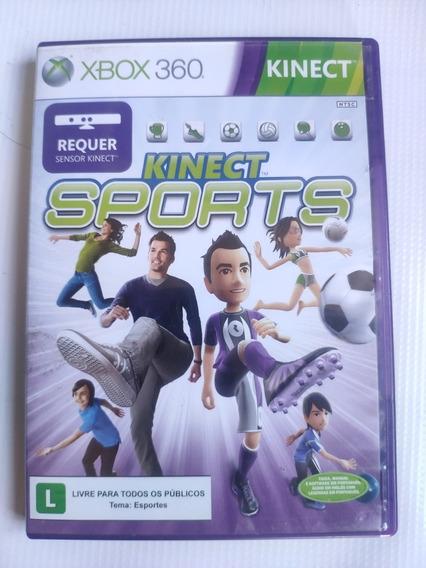 Kinect Sports Xbox 360 Original Semi Novo Midia Fisica