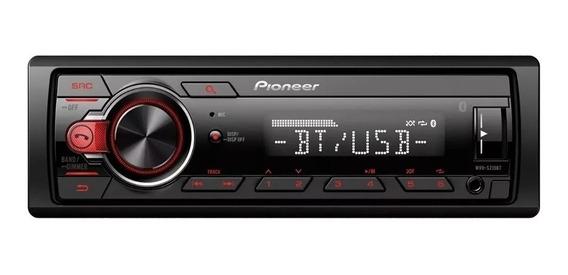 Estereo Pioneer Mvh S215 Bluetooth Usb Aux Instalacion Grts