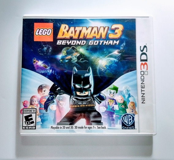 Lego Batman 3 Beyond Gotham 3ds - Impecável Americano !!!