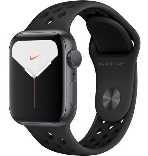 Apple Watch Series 5 40mm Space Gray, Black Nike 12x S/juros