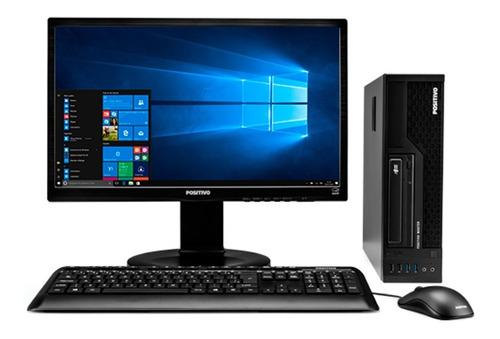 Cpu + Monitor Positivo Core I7 8gb Hd 500gb 22 Pol Promoção
