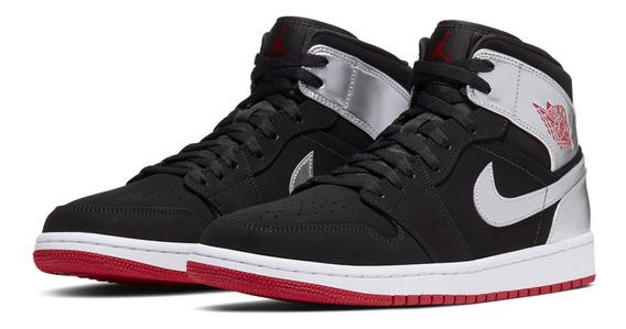 Tenis Nike Air Jordan 1 Mid Originales Nuevos En Caja