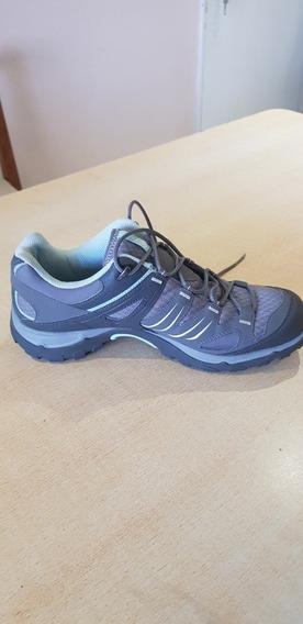 Zapatillas Salomón Talle 41 Training..impecables .ver Foto