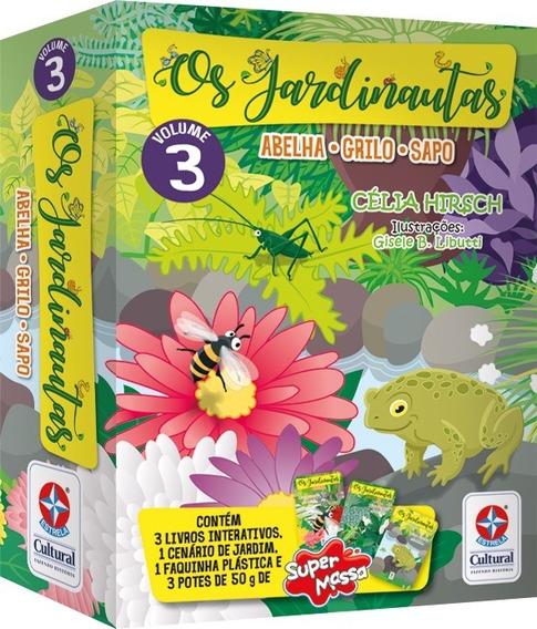 Livro Interativo Os Jardinautas Volume 3 - Estrela Cultural