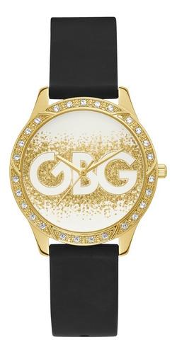 Reloj G By Guess G Spark Para Dama, Color Negro/dorado