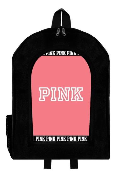 Mochila Urbana Reforzada Love Pink Givan