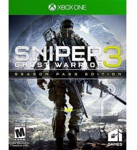 Jogo Mídia Física Sniper Ghost Warrior 3 Original Xbox One