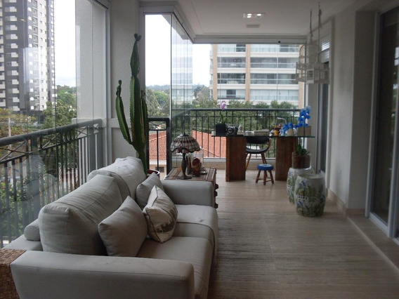 Apartamento Com 4 Dormitórios À Venda, 216 M² Por R$ 2.650.000 - Campo Belo - São Paulo/sp Forte Prime Imóveis - Ap61168