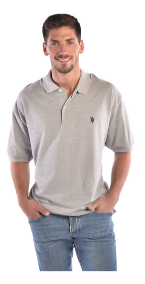 Polo Regular Fit U.s. Polo Multicolor Uslpm44627b Hombre