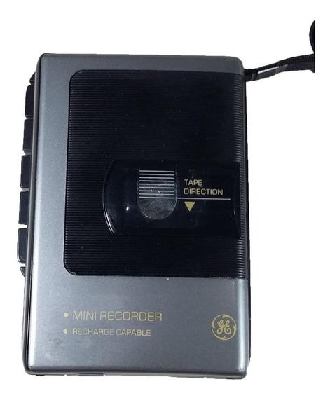 Gravador Cassete Mini Ge 3-5353b Retirada De Peças